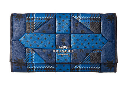 时尚炫丽:COACH 蔻驰 Patchwork Crossgrain 手包 140刀