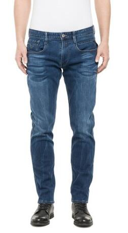 德淘神物:Replay Herren Slim Jeanshose 修身牛仔裤€37.44