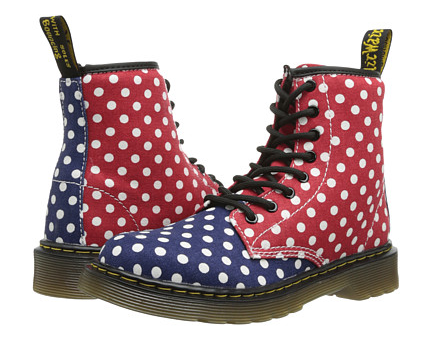 尺码有限:Dr. Martens Kid's Collection Delaney 儿童马丁靴   25.5刀