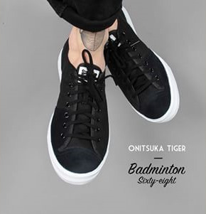 潮流新派:Onitsuka Tiger by Asics 鬼冢虎 男士 Badminton 68 时尚板鞋 30.49刀(59%OFF)