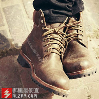 海淘新低:Timberland天木兰男士Earthkeepers Rugged真皮靴116刀(39%OFF)额外25%OFF