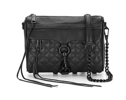 时尚海淘:REBECCA MINKOFF Quilted Mini Mac Convertible 女款单肩包 78刀