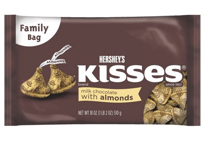 海淘:Hershey's Kisses好时Milk牛奶焦糖巧克力500克(3袋装)14.22刀