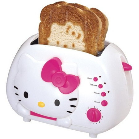 Hello Kitty 2-Slice 2片烤面包机 $31.99